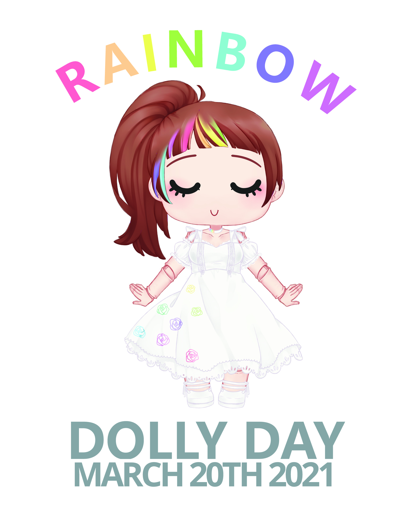 Dolly Day 2020 - FIRST ROUND EXHIBITOR AND TICKET SALE- RAINBOW